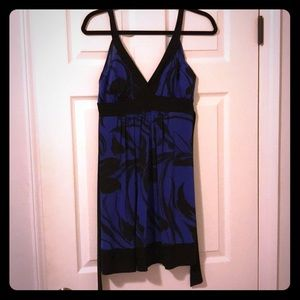 Blue and black 21 dress